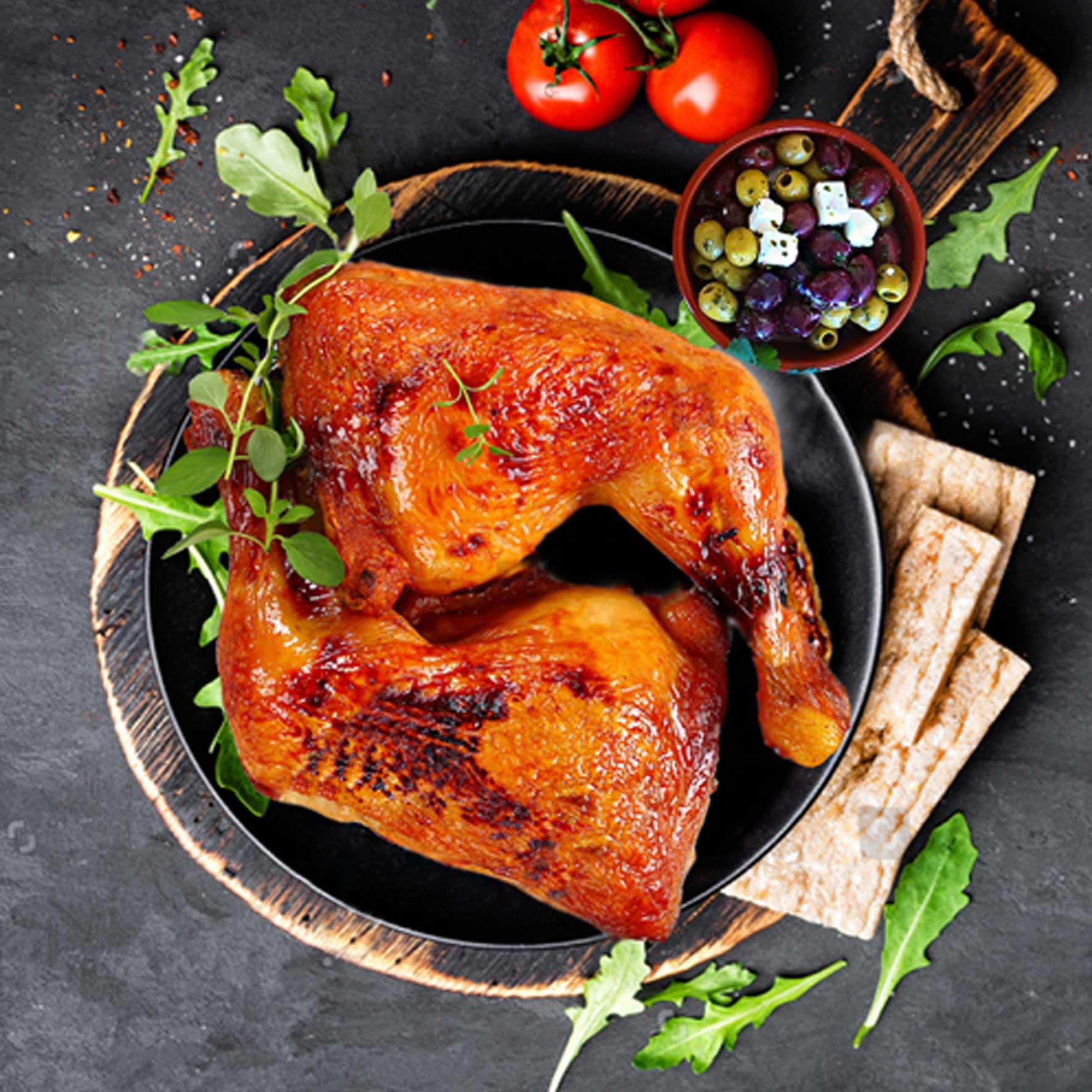 ران مرغ بریانی ترکی