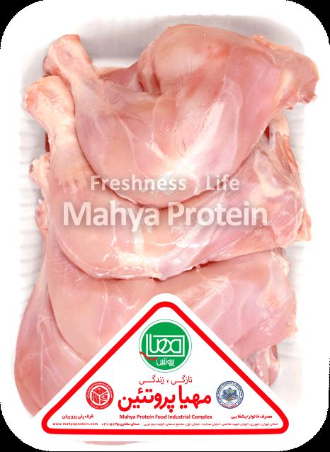 ران مرغ بی پوست 1800 گرمی