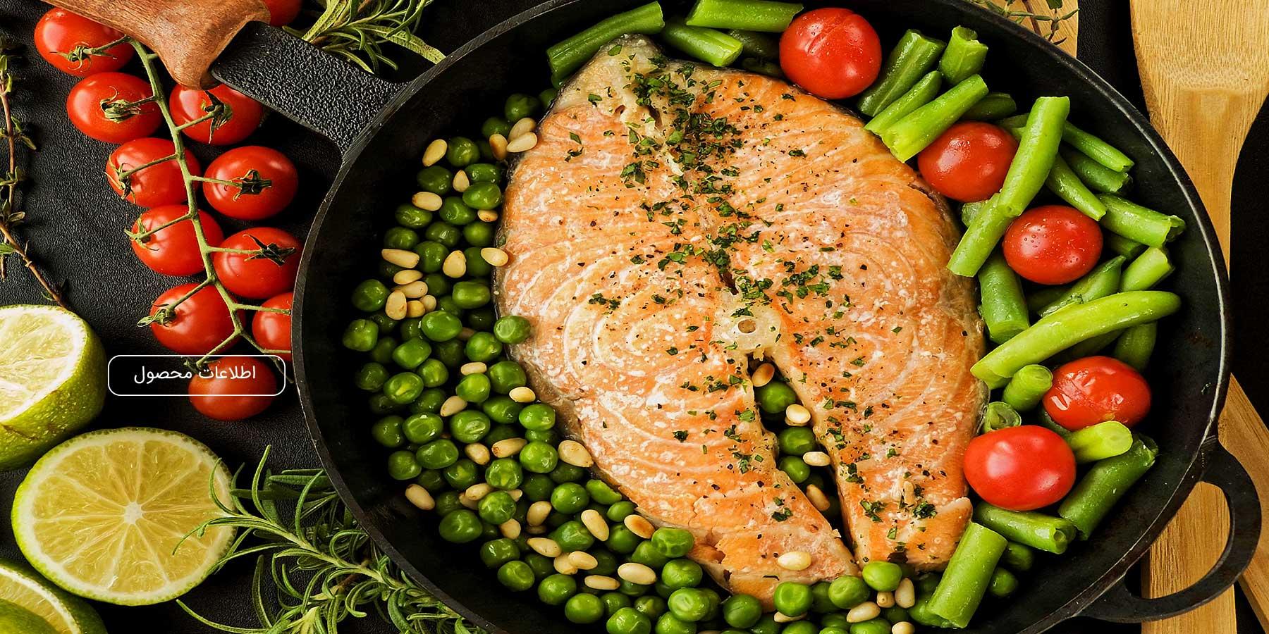 ماهی تازه و منجمد مهیا پروتئین