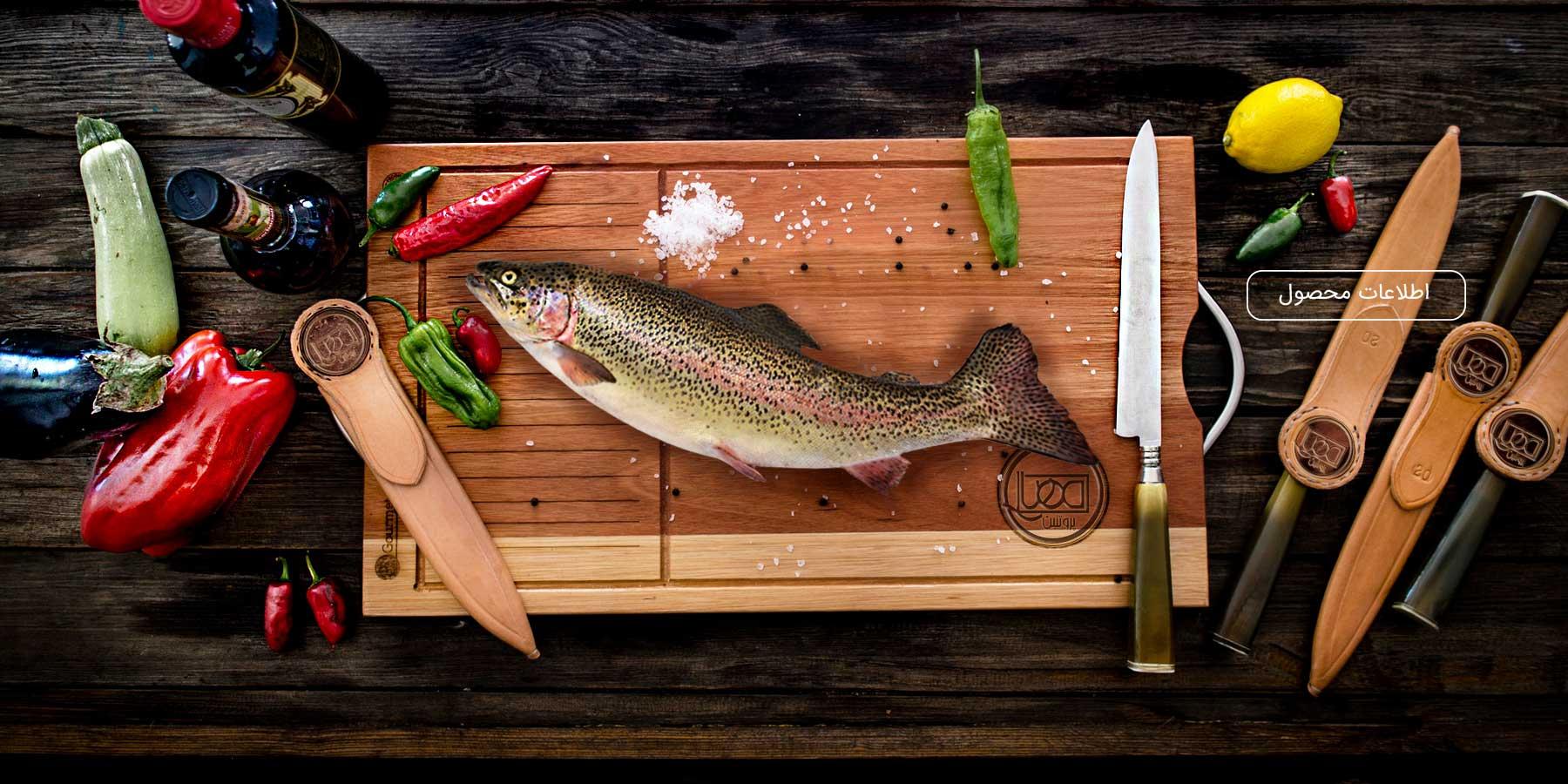 گوشت ماهی منجمد مهیا پروتئین