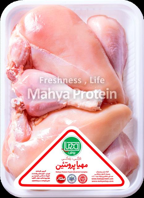 مرغ خرد شده بی پوست