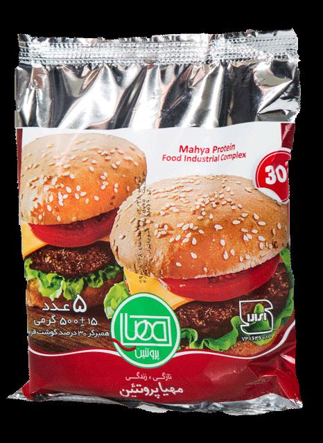 همبرگر 30% ممتاز